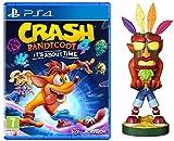Crash Bandicoot 4 - It's About Time + Crash Aku Aku Cable Guy - Bundle [Esclusiva Amazon] - PlayStation 4