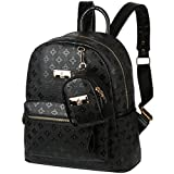VBG VBIGER PU Leather Mini Backpack Purse Fashion Travel Backpack for Women Girl