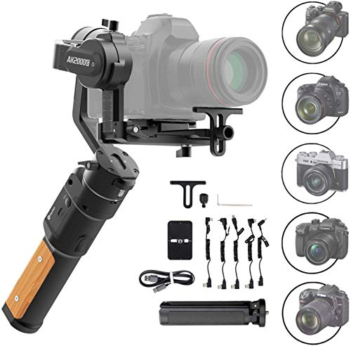 FeiyuTech AK2000C Gimbal 3-Axis Handheld Stabilizer for...