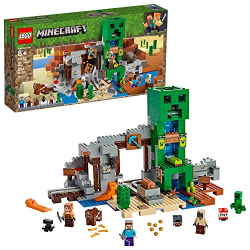 LEGO Minecraft The Creeper Mine 21155 Building Kit (834 Pieces)