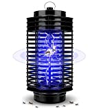 SOLMORE Lampe Anti Moustique, Moustique Tueur Lampe Portable, Surface utile jusqu'à 20m², Lampe Moustique Pas Bruit, Pas Rayonnement pour Maison, Cuisine,...