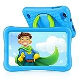 Vankyo Tablet para Niños con Cámaras de 5MP y 2MP, Tablet Niña con WiFi con ROM de 32GB, Processore Quad-Core, Android 9.0, RAM de 2GB (Azul)