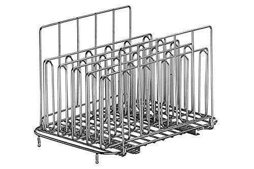 LIPAVI Rastrelliera Sous Vide – Modello L10 | Rastrelliera professionale Sous Vide | Accessori in acciaio inossidabile (316L) per cucina | In acciaio inossidabile, regolabile, pieghevole | Disposizione del cibo da cucinare in verticale | Veloce, efficienza e uniformità | 19,8 x 16,3 x 16,7 cm