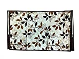Topaz Furnishings Polyester Printed LCD Cover for 42 inches LCD/led tv, Multicolour