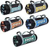 RDX Sandbag Weight Training Power Bag with Handles & Zipper   Weight Adjustable Fitness Powerbag for Weight Lifting, Running, Exercise, Powerlifting and Functional Workout