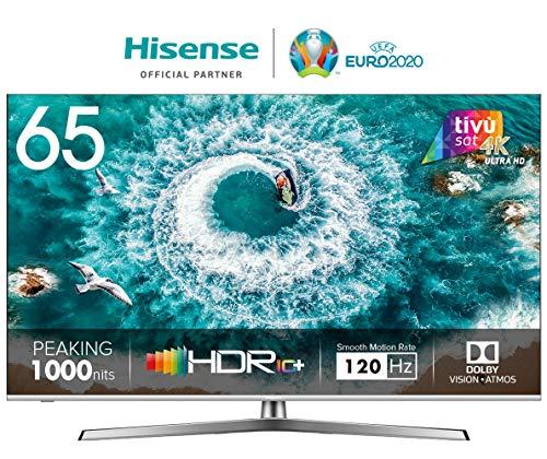 HISENSE H65U8BE TV LED Ultra HD 4K, Dolby Vision HDR 1000, Dolby Atmos, Unibody Design, Smart TV...