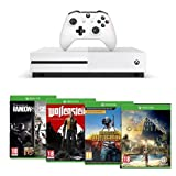 Xbox One S 1 To Le jeu Assassin's Creed Origins (version digitale) Le jeu Rainbow Six : Siege (version digitale) Le jeu PlayerUnknown's Battlegrounds Le jeu Wolfenstein II : The New Colossus