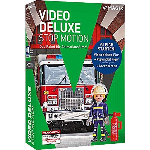 Magix Video Deluxe Stop Motion Bundle Vollversion, 1 Lizenz Windows Videobearbeitung