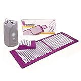 Kit d'acupression VITAL XL :Tapis d'acupression XL 130 x 50 cm +...