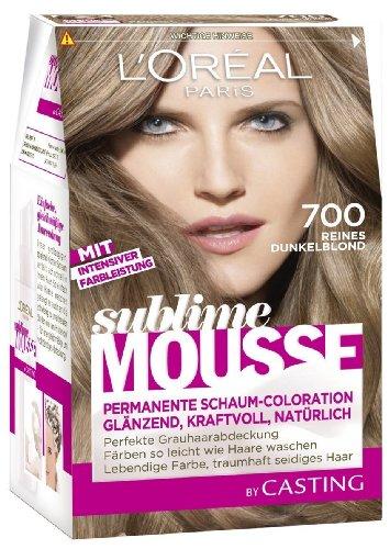 L 'Oréal Paris Sublime Mousse Permanent Foam colour 700 Pur