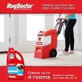 Rug Doctor Mighty Pro X3 Commercial Carpet Cleaner, Pack Out, Red