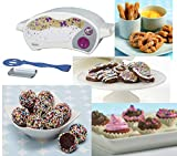 Easy Bake Ultimate Oven Toy Baking Star Series with 3 Extra Refill Packs, Including Sparkle Cakes, Red Velvet Cupcakes, Pretzels and Chocolate Truffles