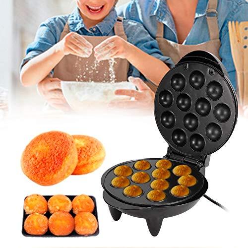Parluna 12 Löcher Takoyaki Maker, Takoyaki Tool 1200W DIY Takoyaki Grill, elektrische Octopus Kugel für Fleischbällchen Fischbällchen Kuchen Pop