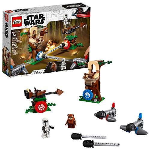 LEGO Star Wars Action Battle Endor Assault 75238 Building Kit (193 Pieces)
