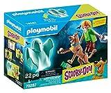 PLAYMOBIL Scooby-Doo! 70287 Scooby & Shaggy con Fantasma, A partir de 5 años