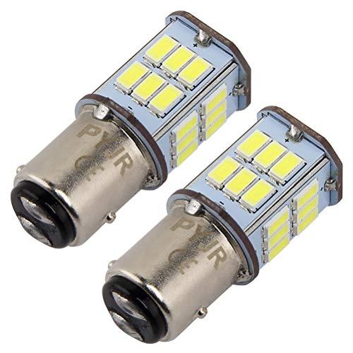 P21/5w 1157 bay15d led Lampadina 5 watt 10-30V Ampia tensione, 50W equivalente, luce bianca, per...
