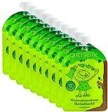 divata Quetschies 10er Pack - wiederverwendbare Quetschbeutel zum selbst befüllen mit u.a. Yoghurt, Smoothies, Babybrei. BPA und PVC frei