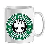 Mobilinnov Mug Groot StarBuck Coffee - Tasse Originale - Cadeau