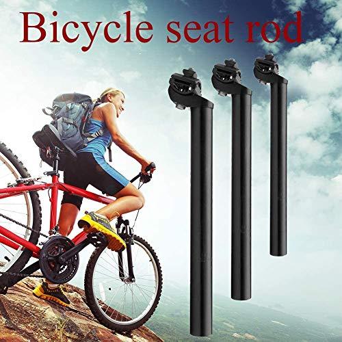 Extra Lang Sattel Post MTB Rennrad Sattelstütze Fahrrad Sattelstütze Schlauch Legierung Aluminium Fahrrad Teil für Mountain oder Rennrad Ersatz ((25.4mm, 27.2mm, 28.6mm, 31.8mm) - 27.2