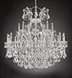 Maria Theresa Empress Crystal(tm) Chandelier Chandeliers Lighting H 36' W 36'