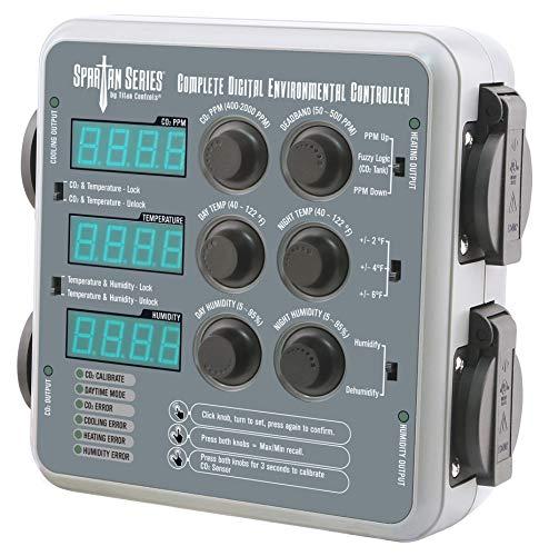 Titan Controls 702450 Spartan Series Complete Digital Environmental Controller (Temperature, CO2 and Humidity)