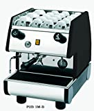 La Pavoni 1 Group Commercial Espresso/Cappuccino Machine, 22' H x 15'W x 21'D, Stainless/Black