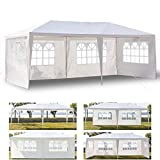 LucaSng 10 x 20 ft Outdoor Tent Camping Pavilion Can be Used for Party Wedding Barbecue Waterproof Tent (USA Warehouse)