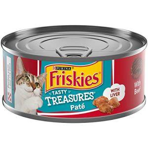Purina Friskies Tasty Treasures Adult Wet Cat Food – (24) 5.5 oz. Cans