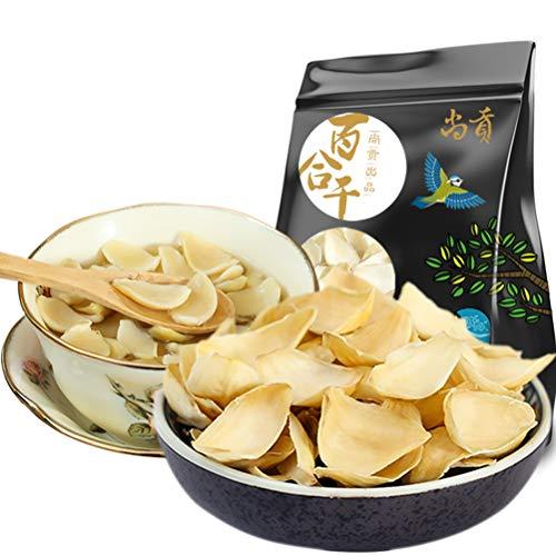 OUYANGHENGZHI Lanzhou Chinese Fresh and Non-sulfur Dried Lily Bulb Healthy Food Bai He 百合干 250g/8.8oz