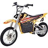 Razor MX650 Dirt Rocket Electric-Powered Dirt Bike with Authentic Motocross Dirt Bike Geometry, Rear-Wheel Drive, High-Torque, Chain-Driven Motor, for Kids 13+