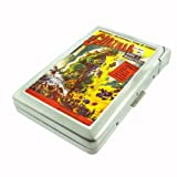 Godzilla 1956 Movie Poster Double-Sided Cigarette Case with lighter, ID Holder, and Wallet D-255