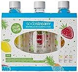 Sodastream PACK DE 3 BOUTEILLES PET décors fruits édition spéciale...