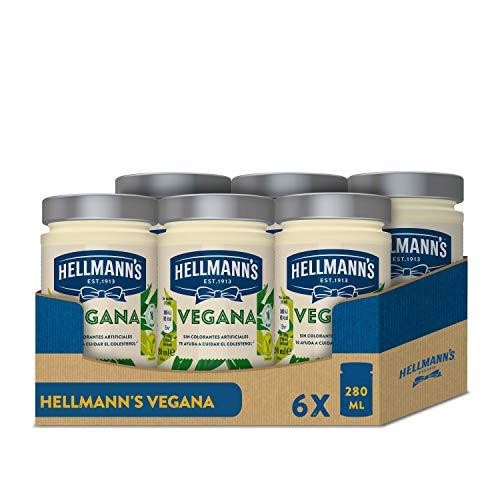 Hellmann's Salsa Vegana 280 ml - Pack de 6