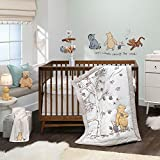Lambs & Ivy Disney Baby Storytime Pooh 3-Piece Nursery Crib Bedding Set