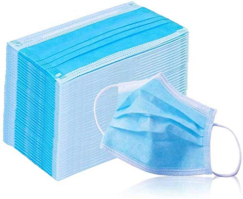 Three Layers Disposable for Protection,Anti-Spitting Protective Dust-proof Cover,Prevent Saliva Safety Face Shields