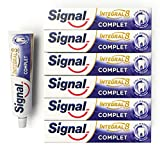 Signal Integral 8 Dentifrice Complet Antibactérien, Protection Caries Gencives...
