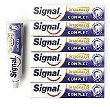 Signal Dentifrice Complet Integral 8 Antibactérien, Zinc Minéral d'Origine...