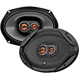 JBL GX963 300W 6' X 9' 3-Way GX Series Coaxial Car Loudspeakers (Pair of 2, 600W Total),black