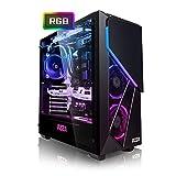 Megaport PC Gamer Jet II AMD Ryzen 5 2600X 6X 3,60 GHz • GeForce RTX2060 6Go • 16Go DDR4 • 240Go SSD • 1To • Windows 10 • WiFi • USB3.0 Unité Centrale Ordinateur de Bureau