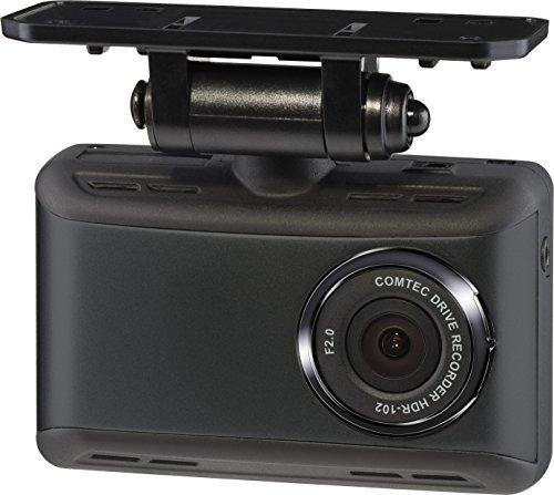 コムテック ドライブレコーダー HDR-102 100万画素 HD 日本製&1年保証 常時録画 衝撃録画