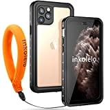 【inkolelo】iPhone11 Pro 防水ケース 5.8インチ 全面保護 耐衝撃 フローティングストラップ付……