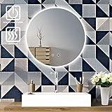 SOGOO Nouvelle Génération 21W Circum 60cm(∅) Miroir Rond Mural Salle de...
