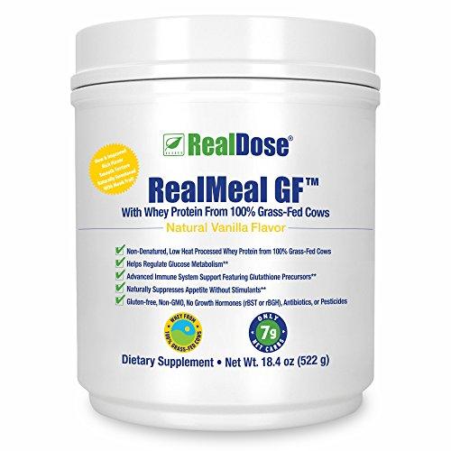 Doctor Formulated Grass Fed Whey Protein Powder – Premium Paleo Protein Powder & Meal Supplement- Includes Prebiotic Fiber, Enzyme Blend, B-Vitamins & Creatine - Vanilla