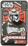 STAR WARS Episode 7 The Force Awakens Dominoes Game - 28 Pack Plastic Dominoes