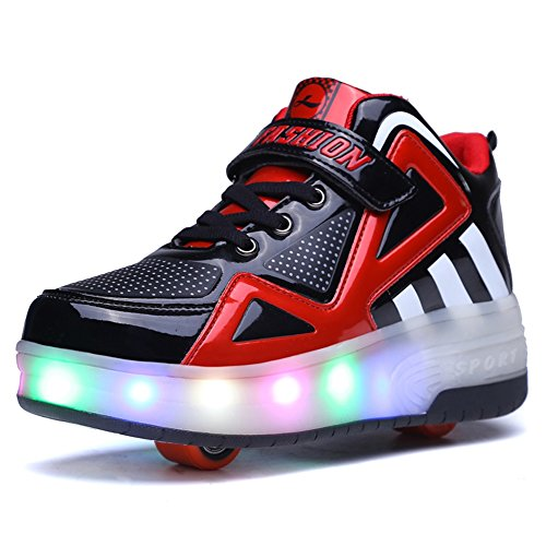 Ufatansy USB Charging Roller Kids Shoes