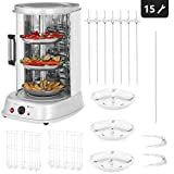 Royal Catering Rotissoire Verticale Professionnelle Grill Vertical...