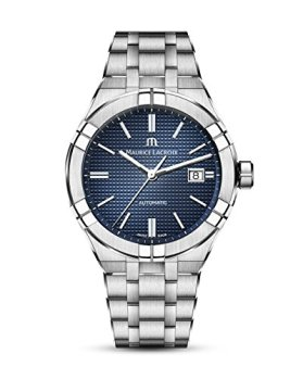Maurice Lacroix Men's Aikon Automatic 42 mm Watch | Blue/Silver