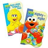 Disney Baby Toddler Board Books - Set of 2 (Sesame Street Board Books)