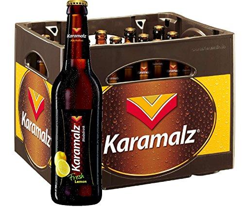 Karamalz Fresh Lemon Malzdrink - Alkoholfrei 20x0,5l ohne Kasten