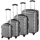 TecTake Set de 4 valises de Voyage de...